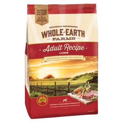 Whole Earth Adult Recipe Lamb Dog Food