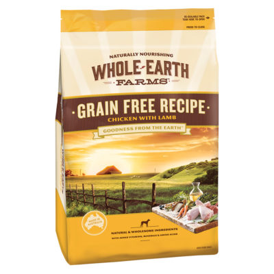 Whole Earth Grain Free Recipe Chicken with Lamb Dog Food