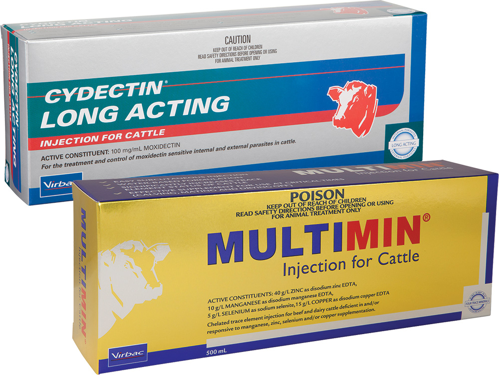 Vibrac Multimin Injections for Cattle